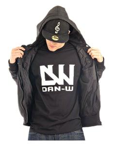 Image of Dan-W T-Shirt (Black/White)