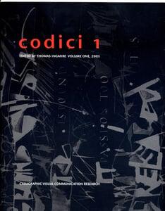 Image of Codici 1, Visual Communication Research