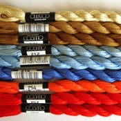 Image of Japanese Cosmo Pearl No5 Thread Series 1-4