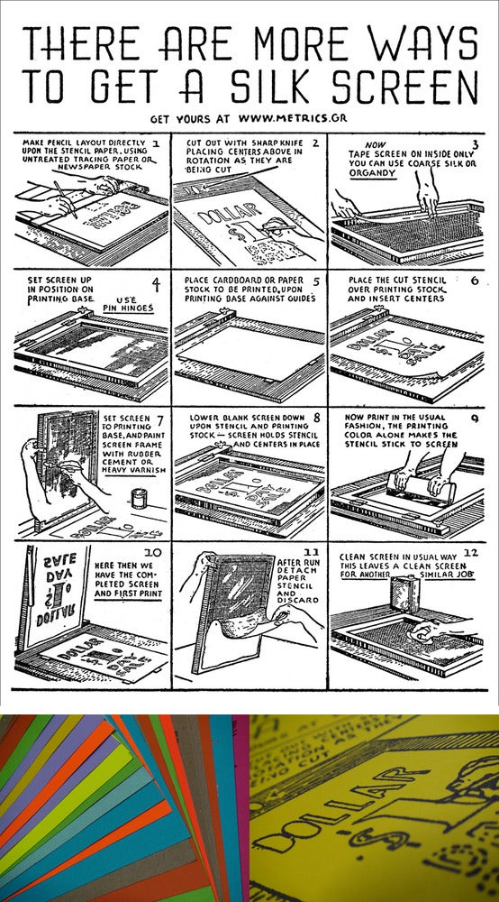 more ways to get a silkscreen