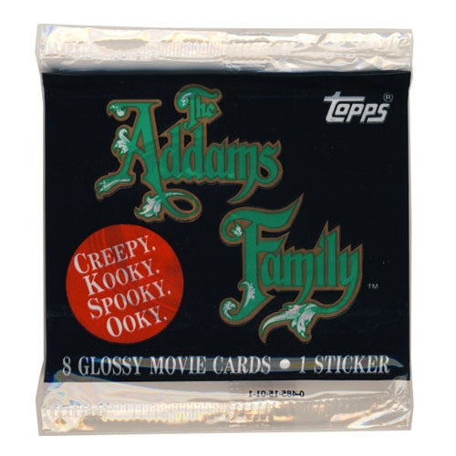 Image of THE ADDAMS FAMILY TRADING CARDS - TOPPS - 1991