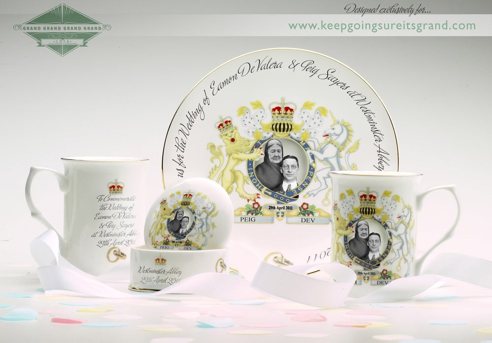 Image of Irish Royal commemorative ware