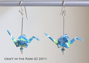 Image of Origami Earrings