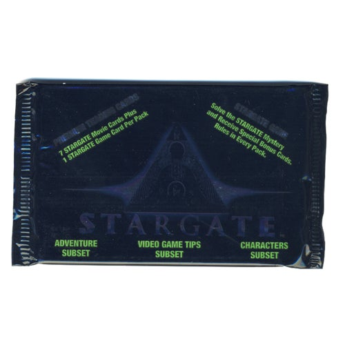 Image of STARGATE (THE MOVIE) TRADING CARDS - 1994