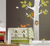 Image of NEW DESIGN - Animal Friends in Woodland - 083 Vinyl sticker wall decal children playroom