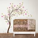 Beautiful Blossom Garden - dd1051 - Kids Nursery Vinyl Wall Sticker Decal Art