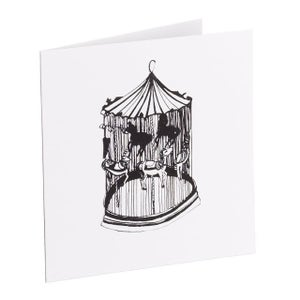 Image of Carousel (Black & White)