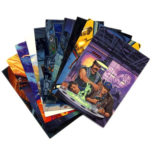 Image of FANTASY ART TRADING CARDS by DAVID MATTINGLY SCI-FI