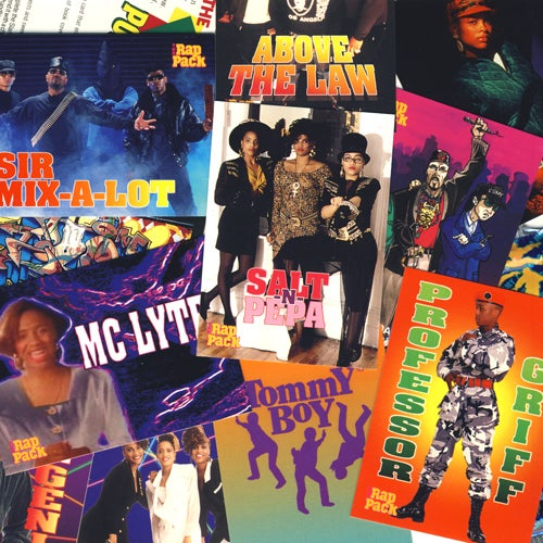 Image of THE RAP PACK MUSIC TRADING CARDS - 1991