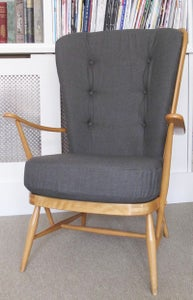 Image of Vintage Ercol High Back Chair