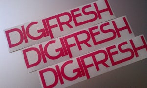 Image of DigiFresh Decal - Pink