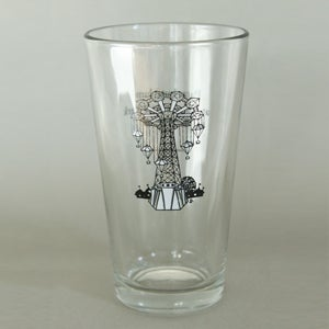 Image of Coney Island Parachute Jump Pint Glass
