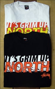 Image of OTP X Stussy 'Grim Up North' Tee