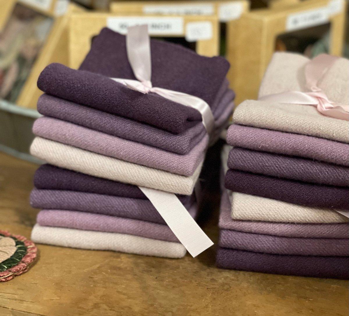 Plum Wool bundles