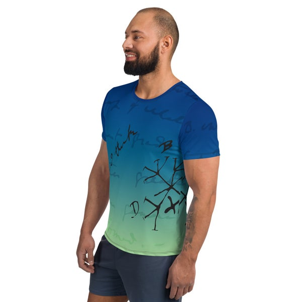 Image of Darwin Thinks Relaxed Fit Athletic T-shirt