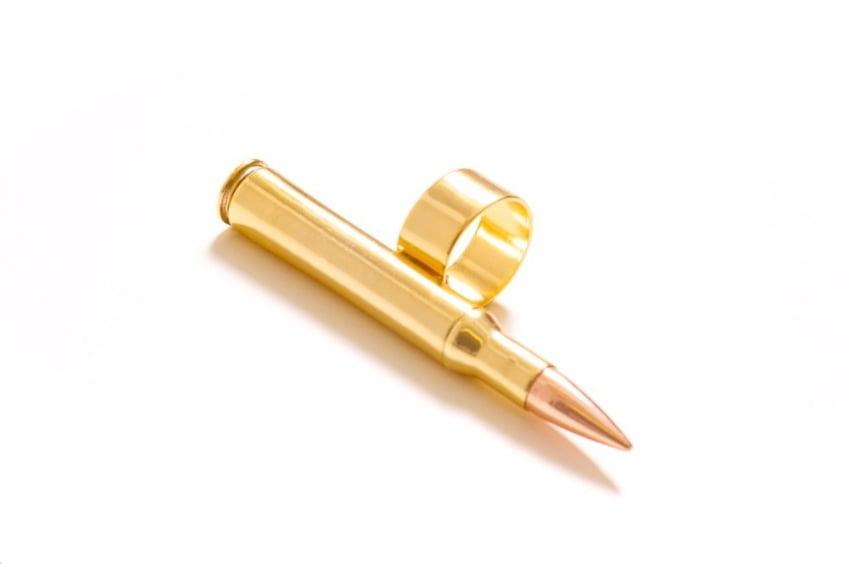 Image of  'FINGER BANG' ring (gold)