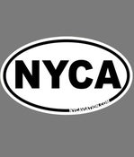 Image of NYCA Sticker