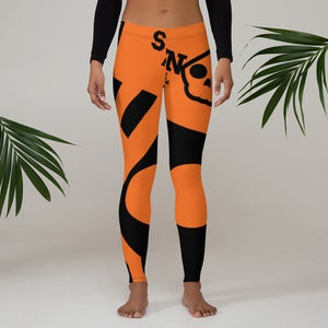Image of Orange Is The New Orange Leggings