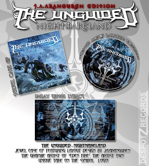 Image of The Unguided - Nightmareland (EP CD)