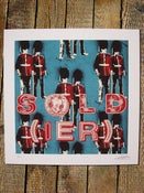 Image of sold(ier) blue