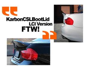 Image of Karbonwerke CSL Style BootLid for LCI E90