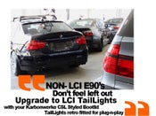 Image of Karbonwerke CSL Style BootLid for LCI E90 - LCI TailLights!
