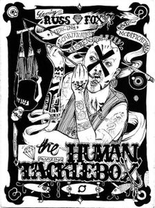 "Image of ""The Human Tacklebox"" Tee"
