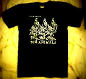 Image of Big Animals T-Shirt - BLACK