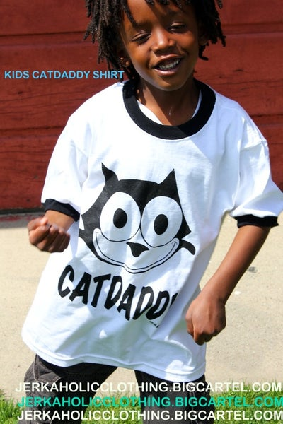 Image of CAT DADDY 2TONE SHIRTS FOR KIDS
