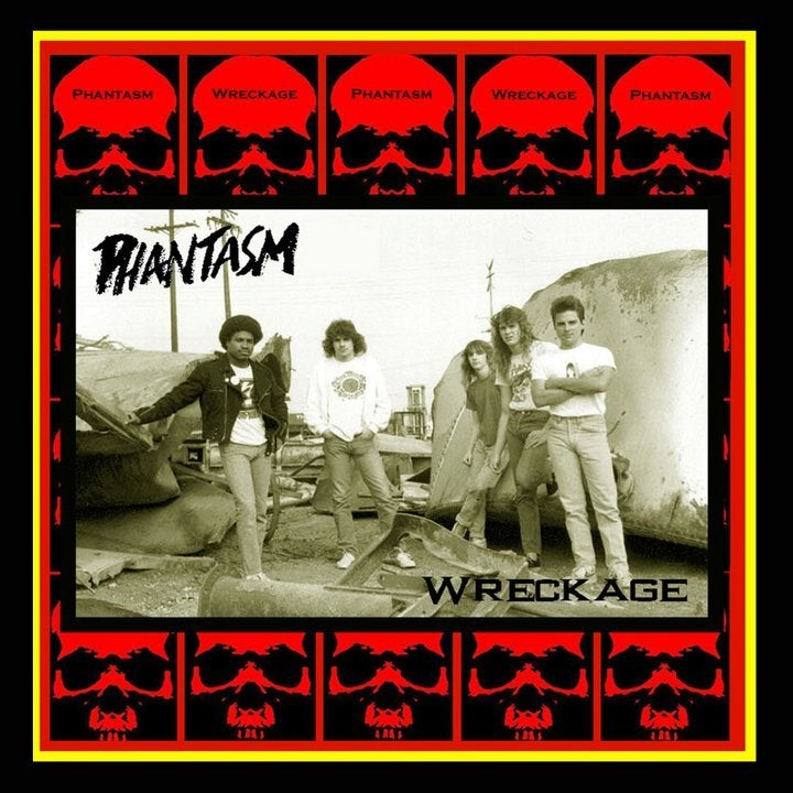"PHANTASM - Wreckage 12"" Vinyl"