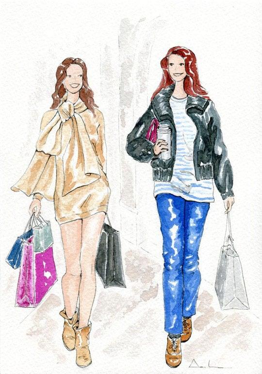 Image of De compras