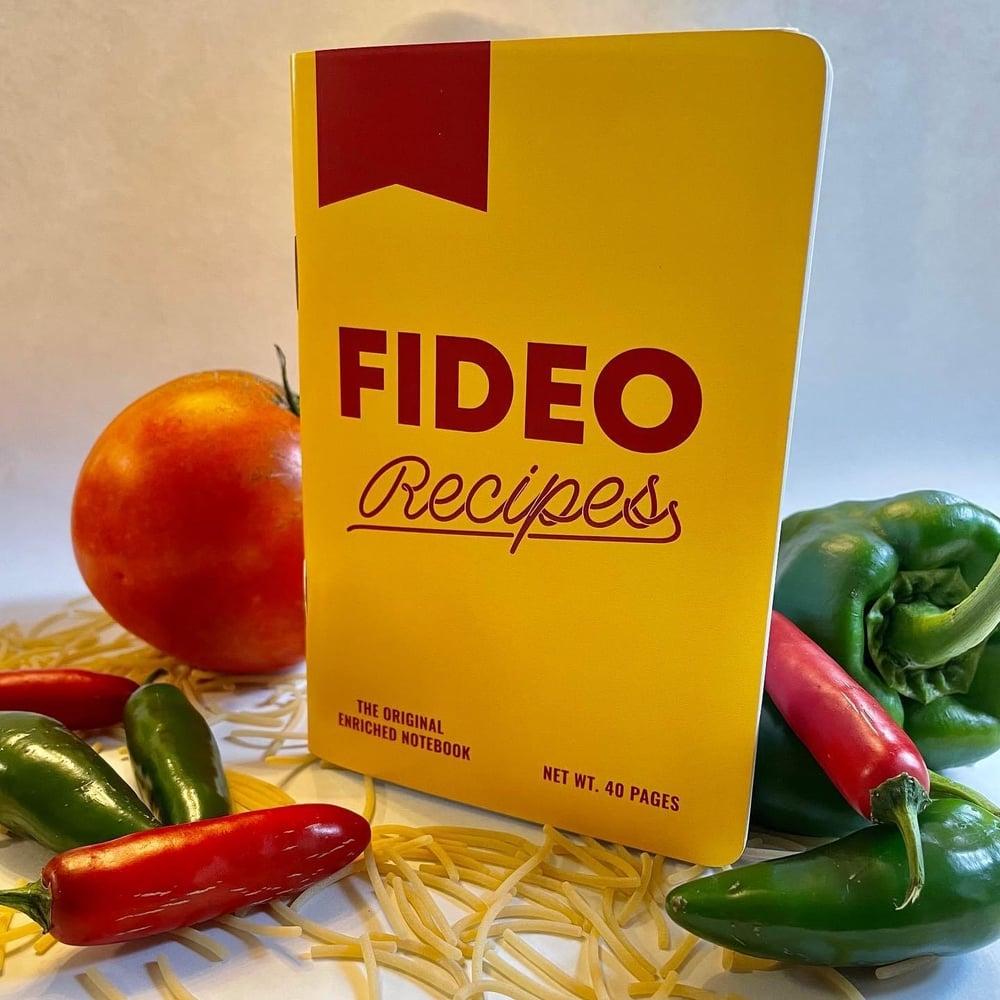 Fideo Recipes Journal