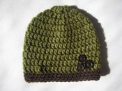 Image of Button Beanie