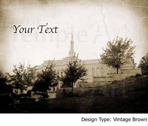 Image of Winter Quarters LDS Mormon Temple Art 001-Personalized LDS Temple Art