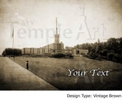 Image of Atlanta Georgia LDS Mormon Temple Art 001 - Personalized Temple Art