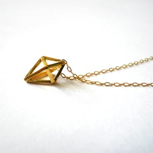 Image of Tetrahedron Pendant
