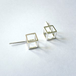 Image of Cube Studs Earrings