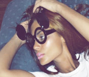 Image of Oh Mickey Clear Sunglasses