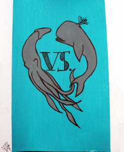 Image of Squid VS. Whale