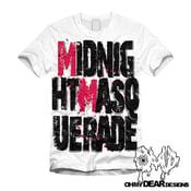 "Image of Midnight Masquerade - ""Logo"" White"