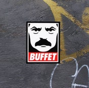 Image of Obey the Buffet Sticker Set