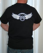 Image of Black Tee Shirts( Back View)