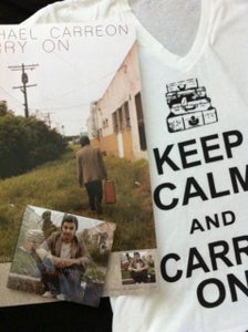 """Image of """"CARRY ON"""" EP, SHIRT, AND POSTER PACKAGE!!!"""