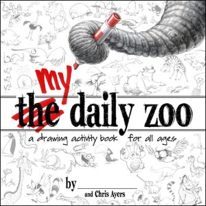 Image of MY Daily Zoo - Drawing Activity Book