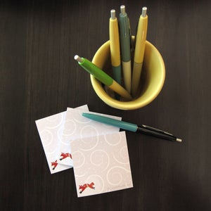 Image of Winter Fox Sticky Notes