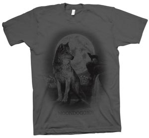 Image of Wolf T-Shirt - Gray