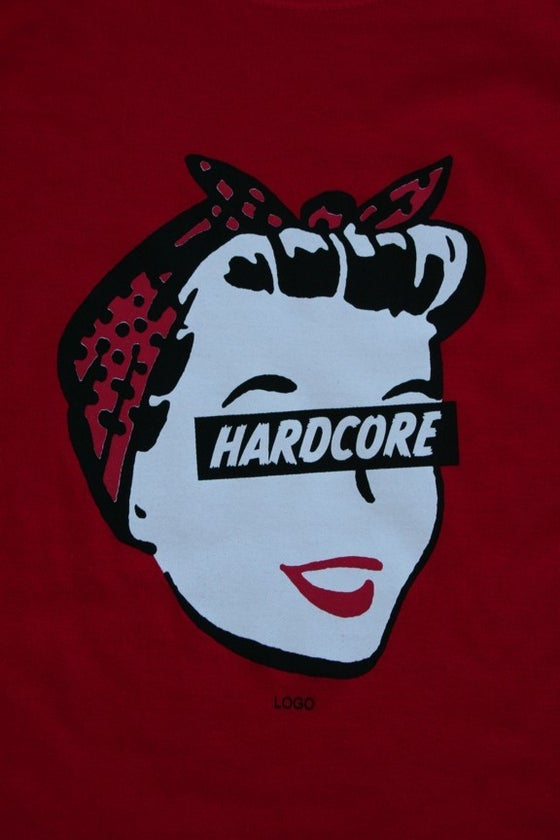 Image of Hardcore Housewife - Ladies - Red