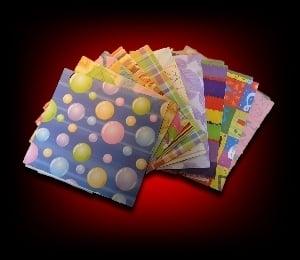 Image of 10 Pochettes cadeaux pour boitiers CD