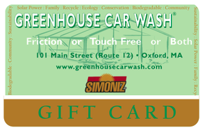 Image of Express Wash Gift Card