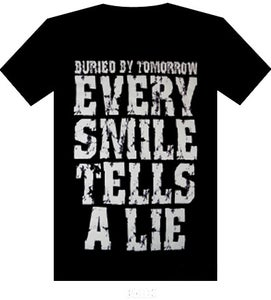 Image of Every Smile Tells A Lie Shirt (Black)